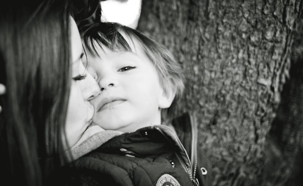 Mum and Son Ashton Park Preston, Lancashire