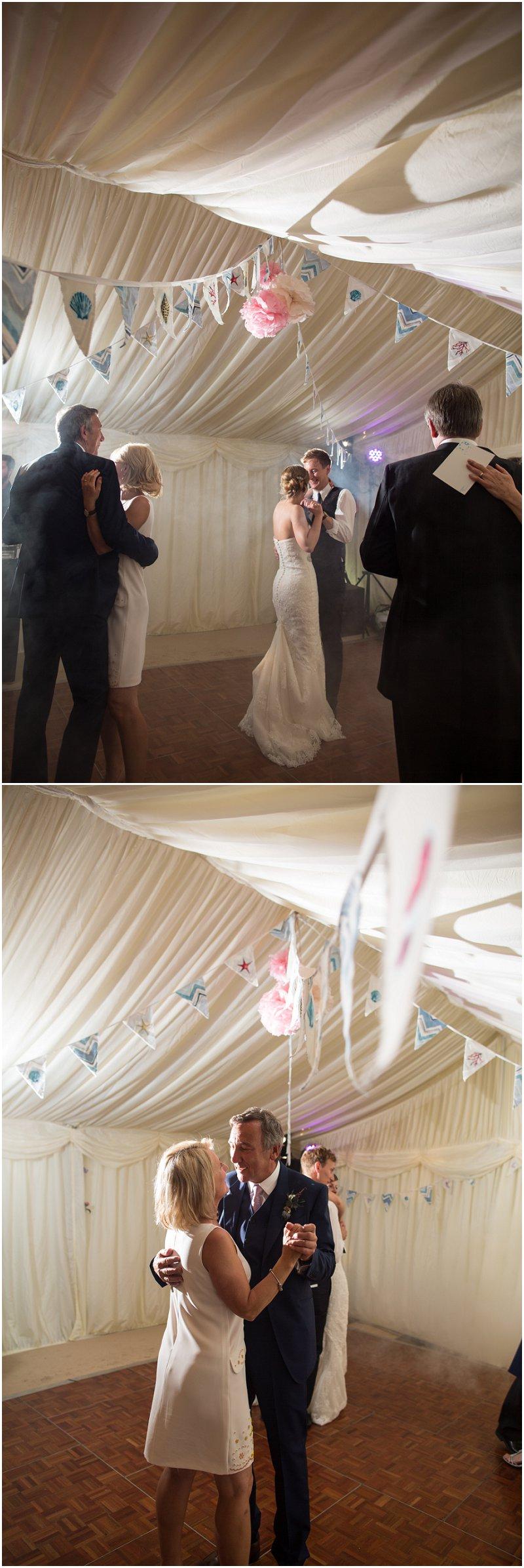 Beautiful dancing at Wales wedding