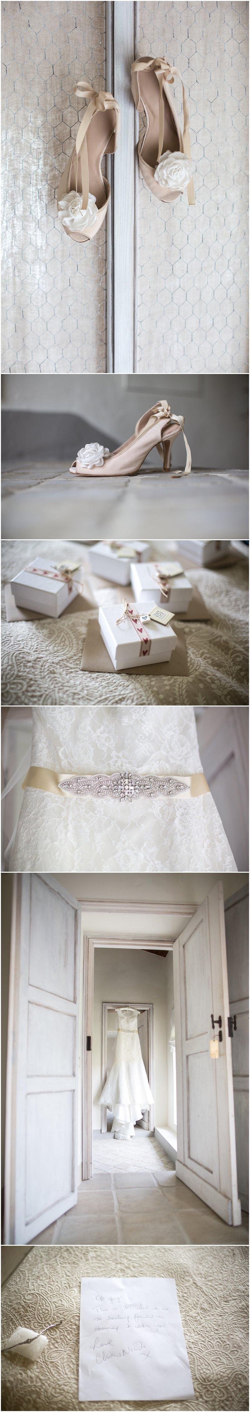 Detail shots during bridal prep La Villa, Italy