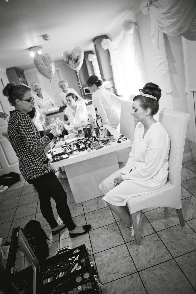 Bridal Preparations in Liverpool. Beautiful creative and modern wedding photography