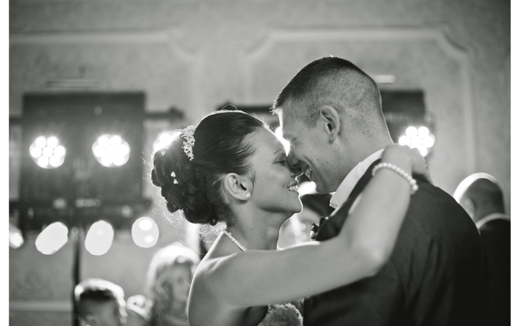 First dance at the Country House Hotel, Lancashire