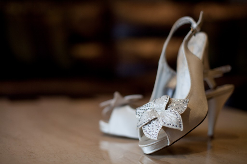 Bridal Shoes Liverpool Wedding Photographer