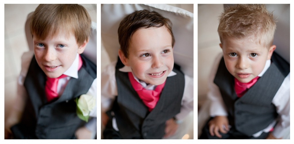 Page Boys at Suites Hotel Wedding, Liverpool Wirral
