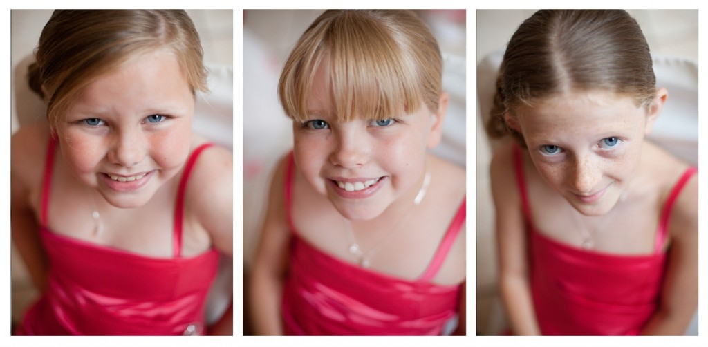 Young Bridesmaids at Suites Hotel, Knowsley