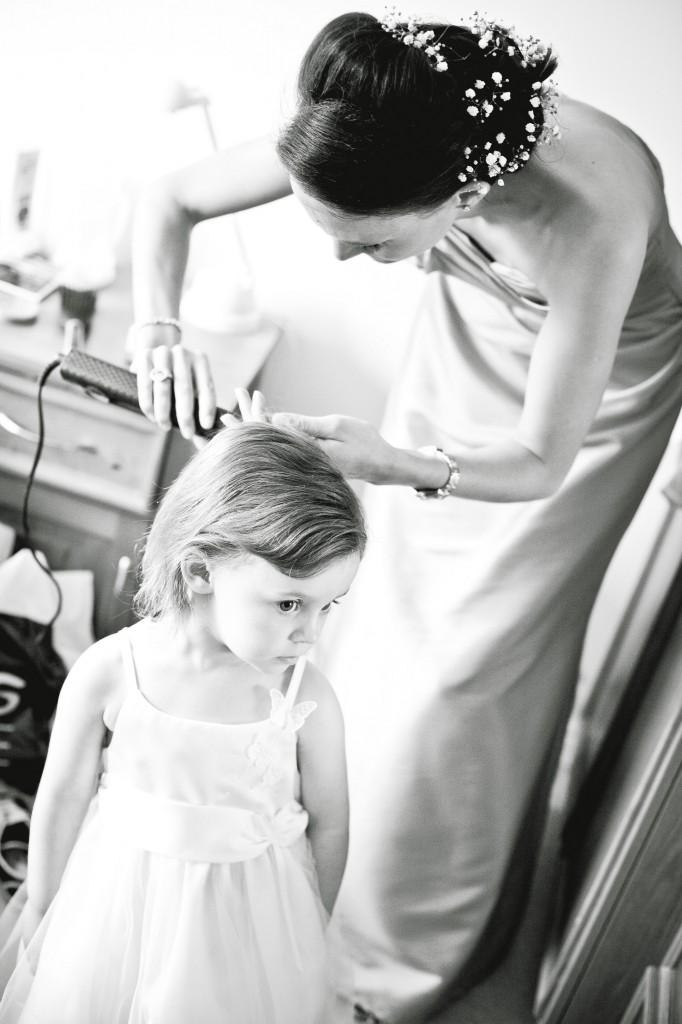 Hair Straitening at Liverpool Wedding Preparation, Wirral