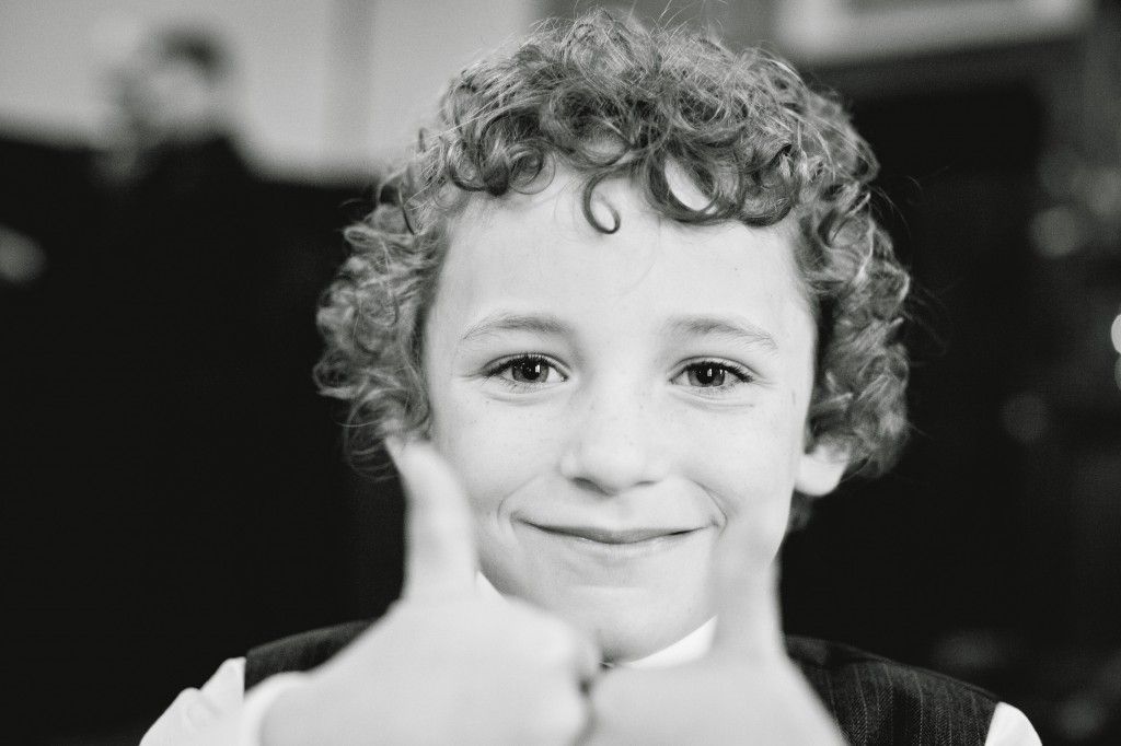 Wedding Guests Gives Me Thumbs Up - Liverpool