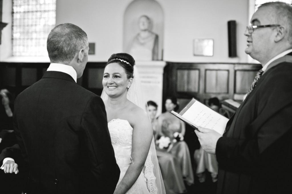 Wedding Ceremony at Church - Wirral Wedding Photography