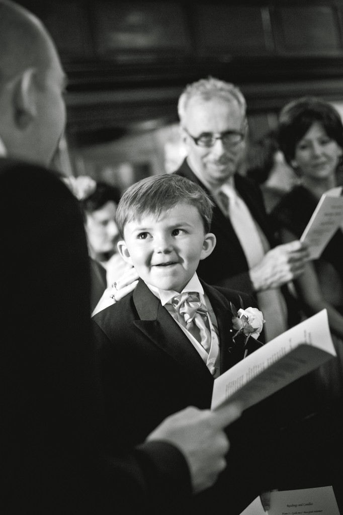 Guest Smiles at His Dad - Liverpool Wedding