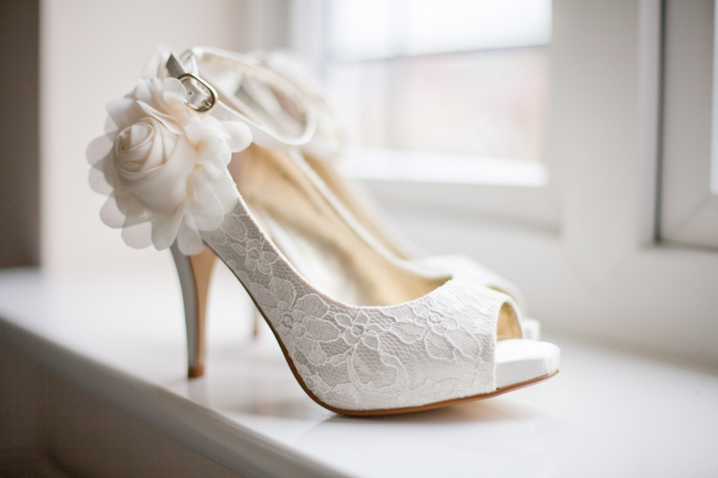 Gorgeous Wedding Shoes Liverpool Wedding Details