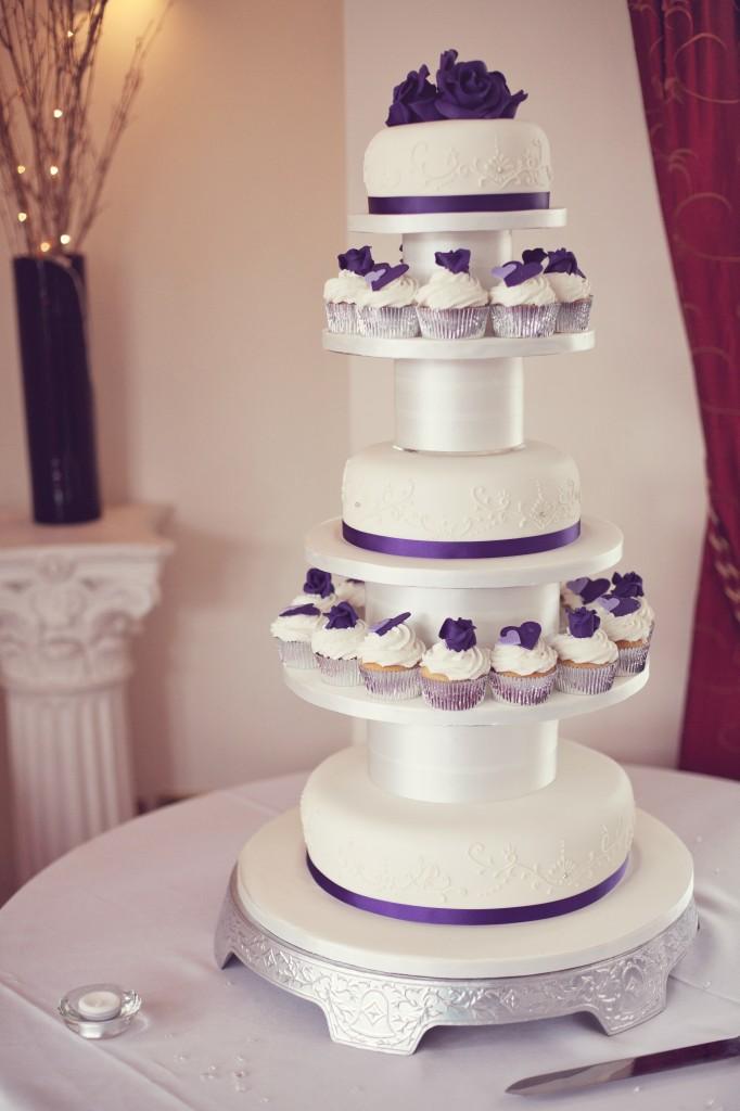 Wedding Cakes - Northop Hall Wedding Photographer