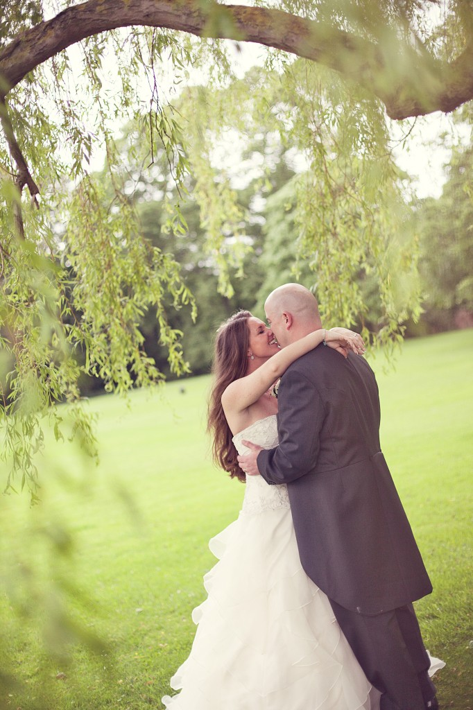 Kissing Under the Weeping Willow Tree - Northop Hall