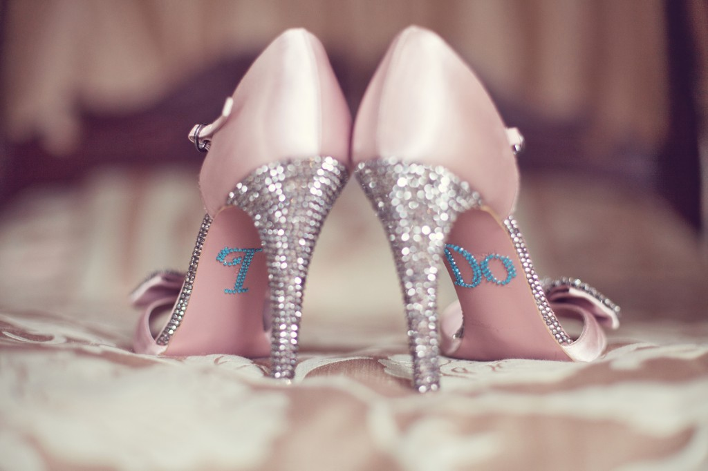 Diamond Divas Shoes With A Bling - Northop Wedding Photography