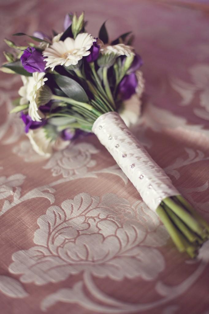 Bridal Bouquet at Northop Hall Wedding