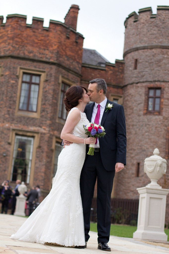 You May Kiss the Bride - Rowton Castle, Shropshire