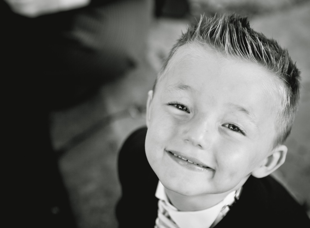 One very cute little boy, Ashfield House Lancashire Wedding photography