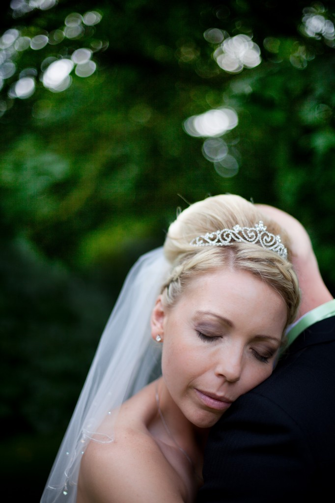 Beautiful bride and groom moment. Ashfield House Hotel