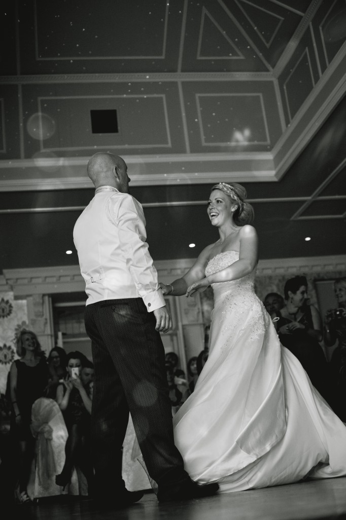 The first dance. Wedding photography, Ashfield House Lancashire