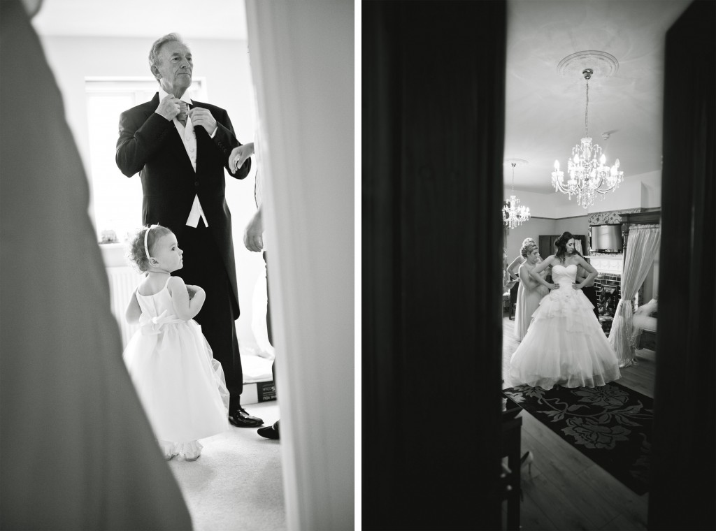 Wedding Photojournalism - Beautiful professional images from two weddings, one in Liverpool, the other at West Tower