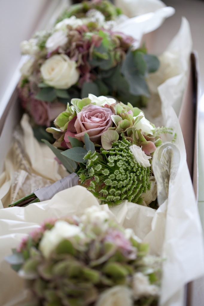 Bridesmaid flowers. Stunning collection of flowers used for the bouquets.