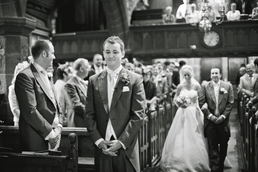 Beautiful wedding photojournaslism in Lancashire