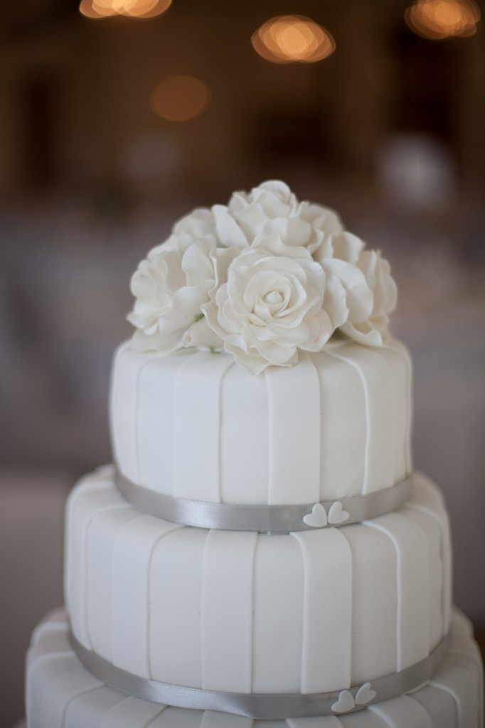 Stunning wedding cake from a West Tower Wedding