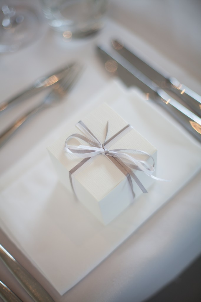 Wedding favours at West Tower wedding venue