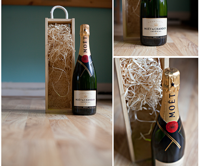 Moet Champagne for Winning Picture of the Year on The Wedding Community