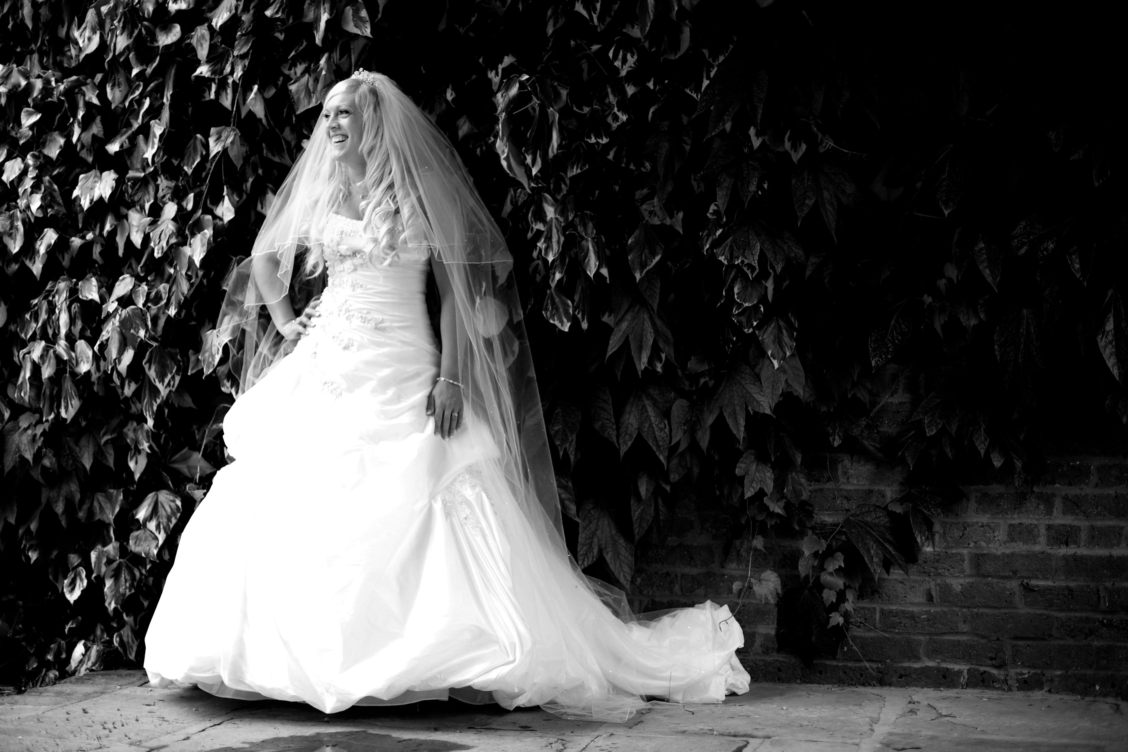 Bride Portraits | Bartle Hall Lancashire Wedding
