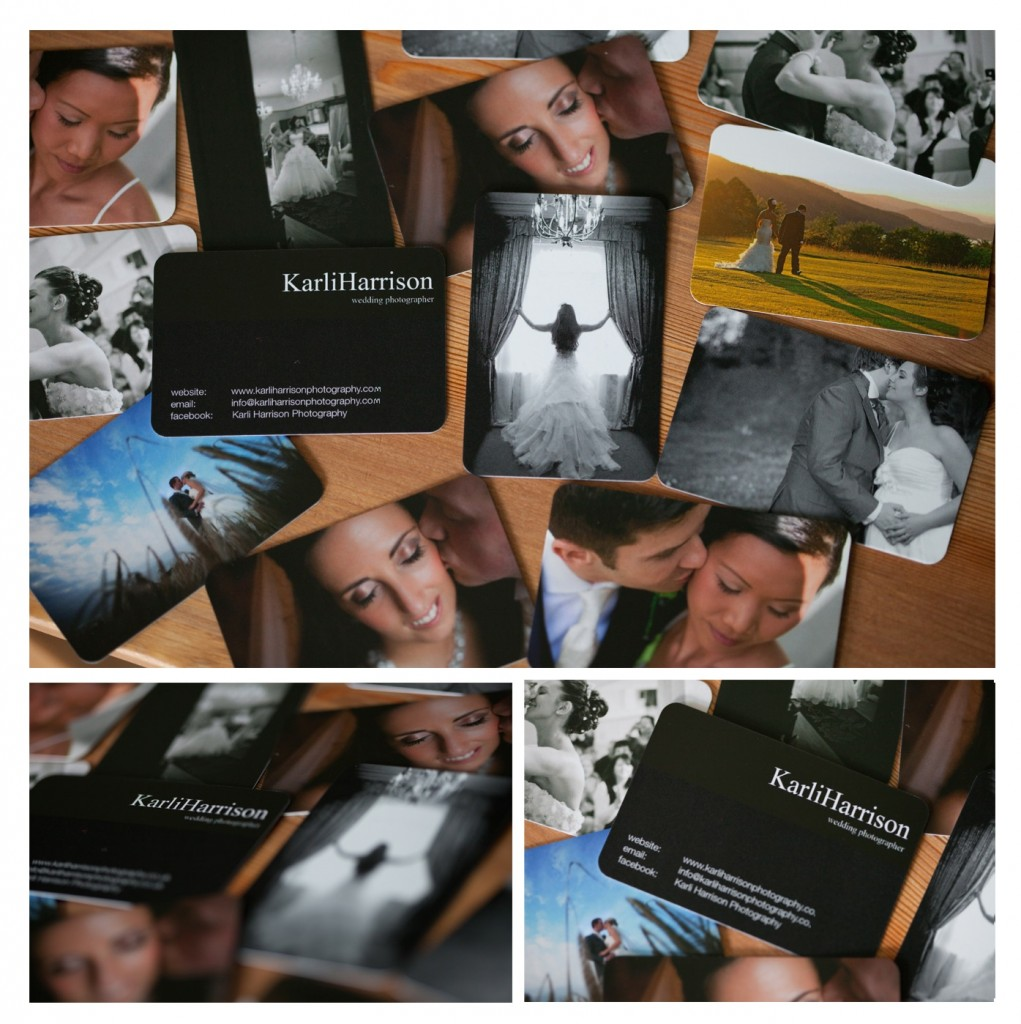 Lancashire Wedding Photography Business Cards by Moo