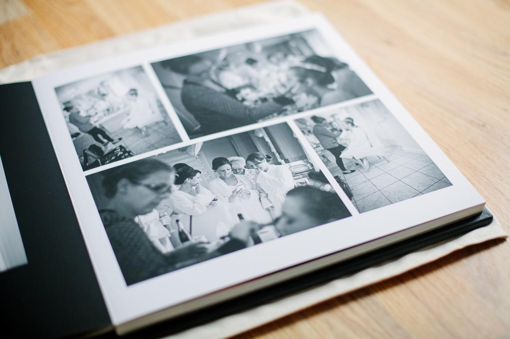 Multiple pictures Wedding album