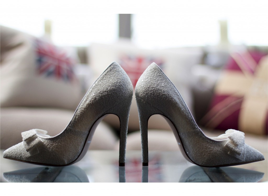 Stunning Bridal Shoes Photography