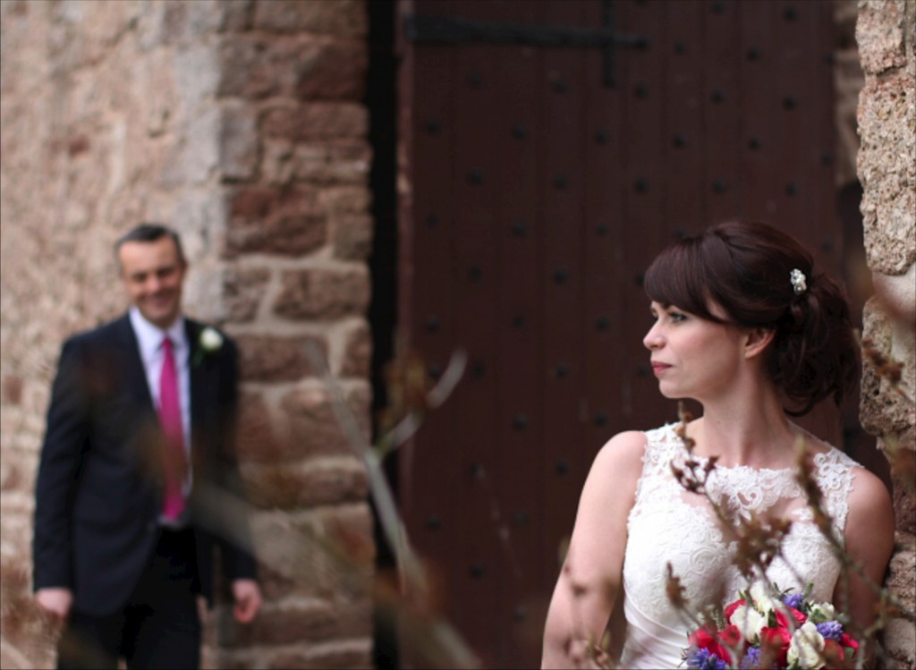 Bride and Groom Portraits Shropshire Photography
