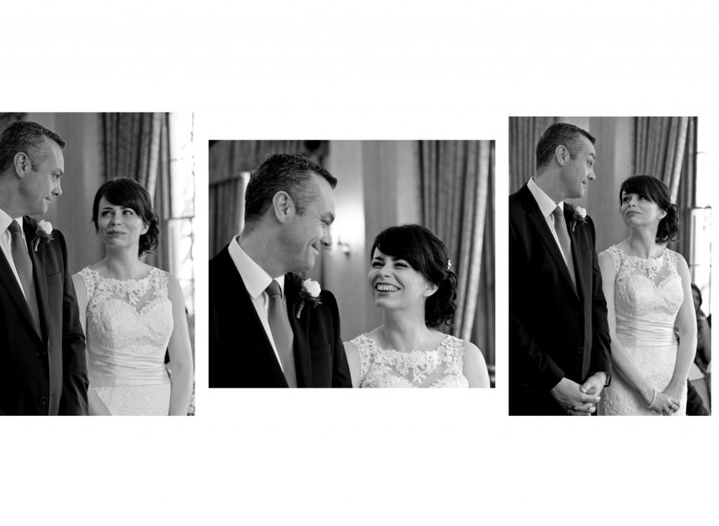 Wedding Vows, Rowton Castle Wedding Photographer