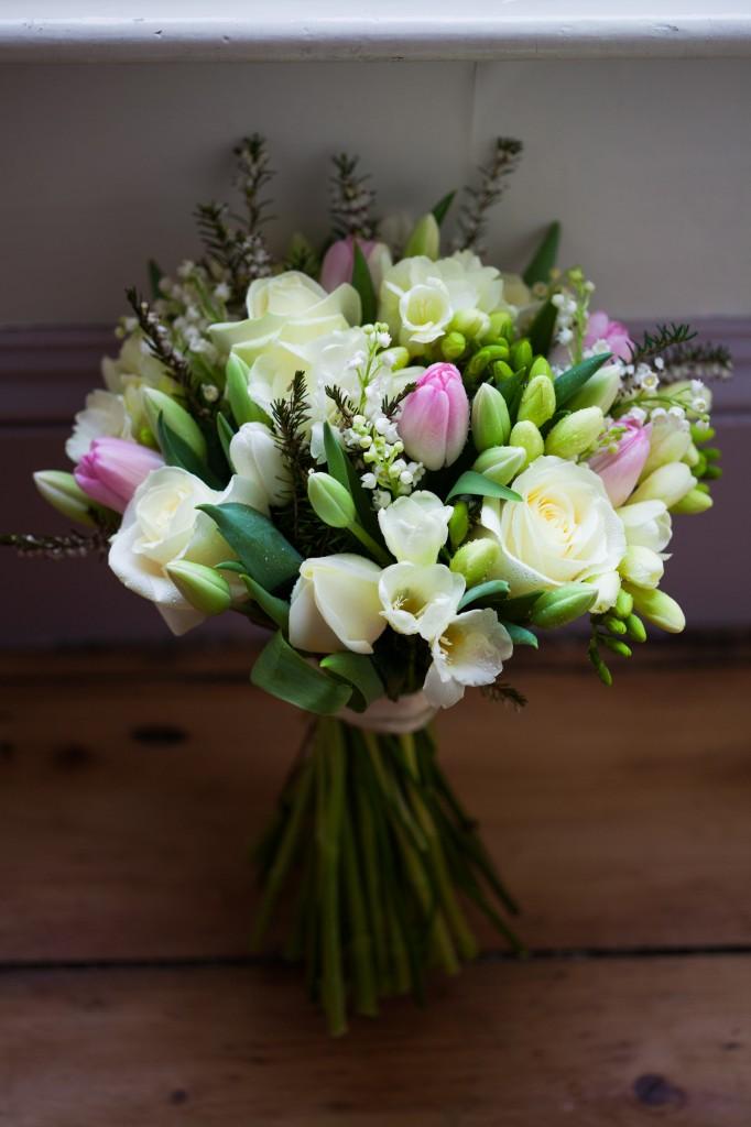 Closer shot of Stunning wedding flowers