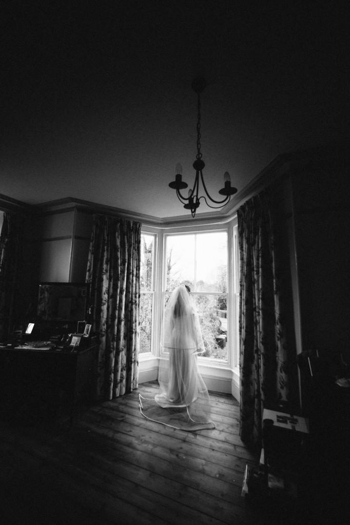 Dramatic Wedding photography Cumbria Wedding Photographer