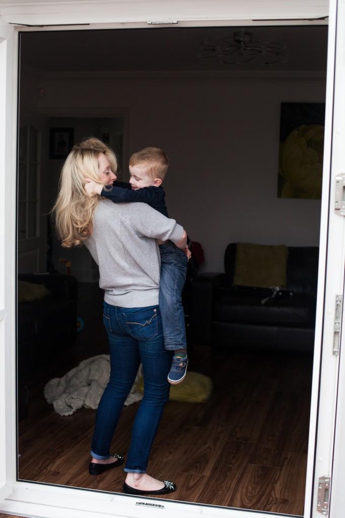 Little boy and Mummy photograph