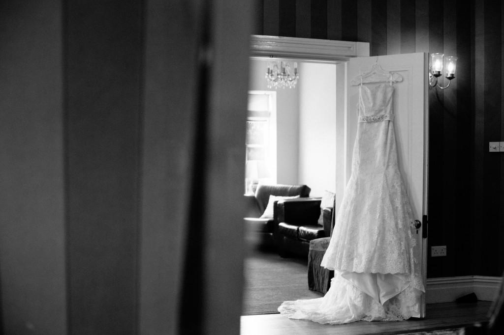 Beautiful Wedding Dress Photograph