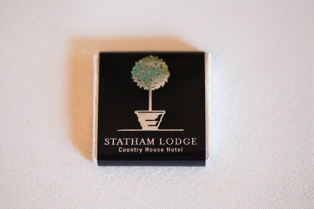 Chocolate at Statham Lodge