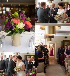 Wedding Ceremony Linthwaite House Hotel Wedding Photographer