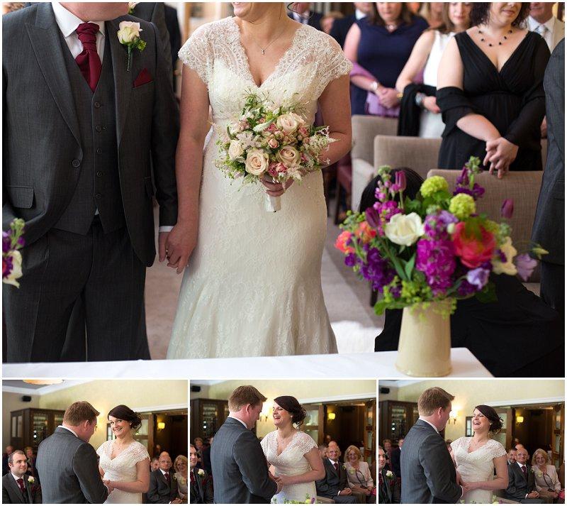 Wedding Ceremony at Linthwaite House Hotel Wedding