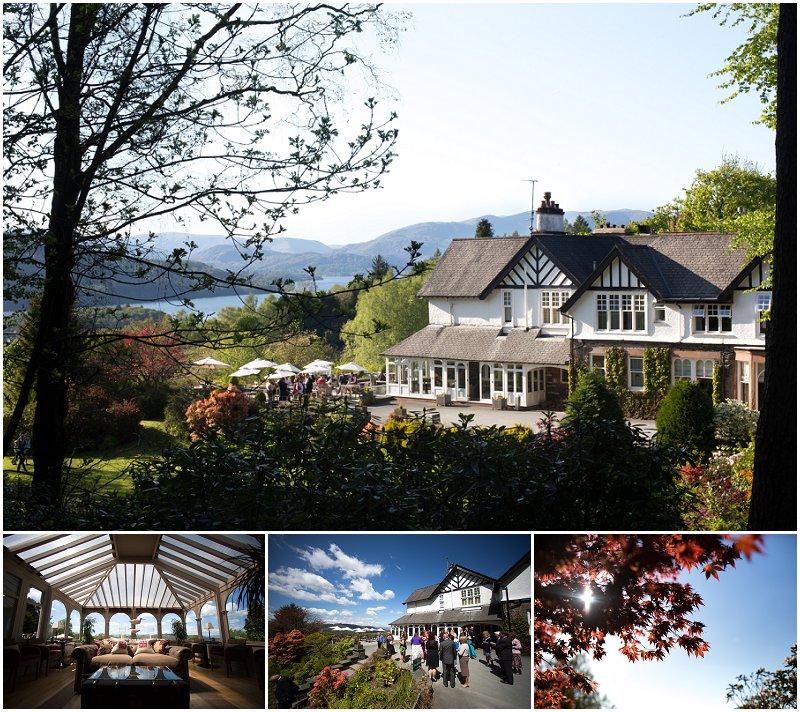 Stunning Linthwaite House Hotel Wedding photography