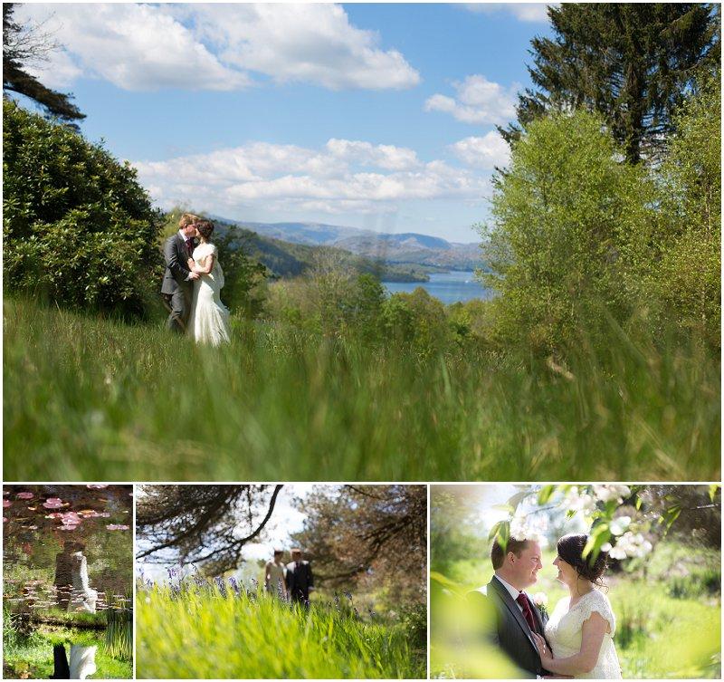 Beautiful Wedding Portraits at a Cumbria Wedding