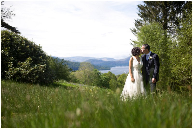 Beautiful Lake District Wedding Photography Windermere