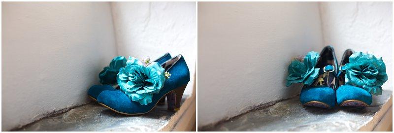 Interesting Wedding Shoes Cumbria Wedding