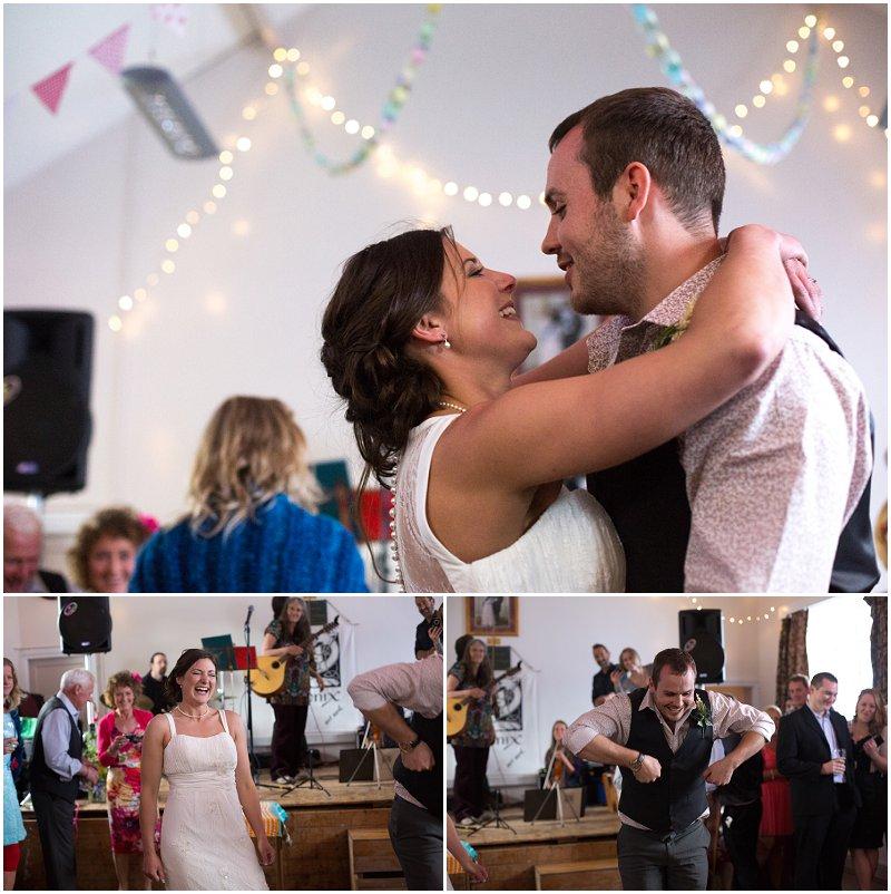 First dance at Lake District Wedding