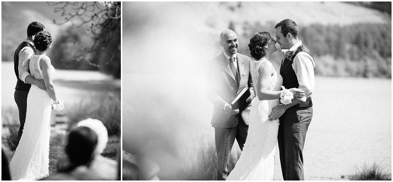 Beautiful outdoor wedding Cumbria Wedding Photography