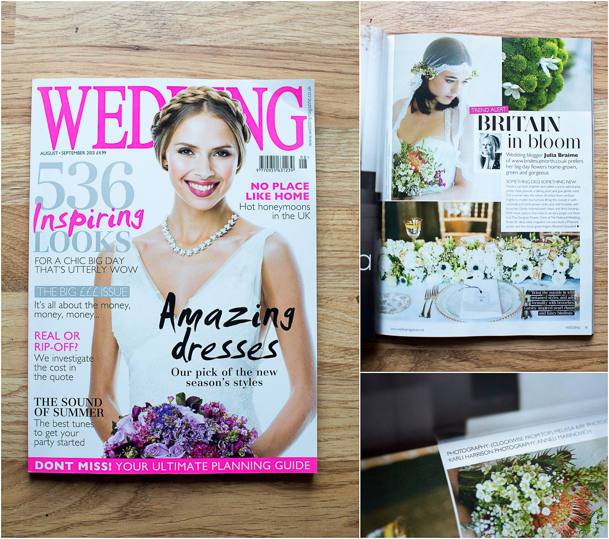 National Wedding Magazine 'Wedding' Photography Published