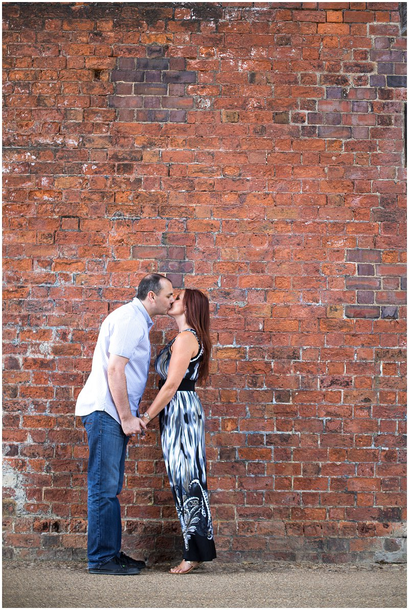 Kissing under railway bridge Preston