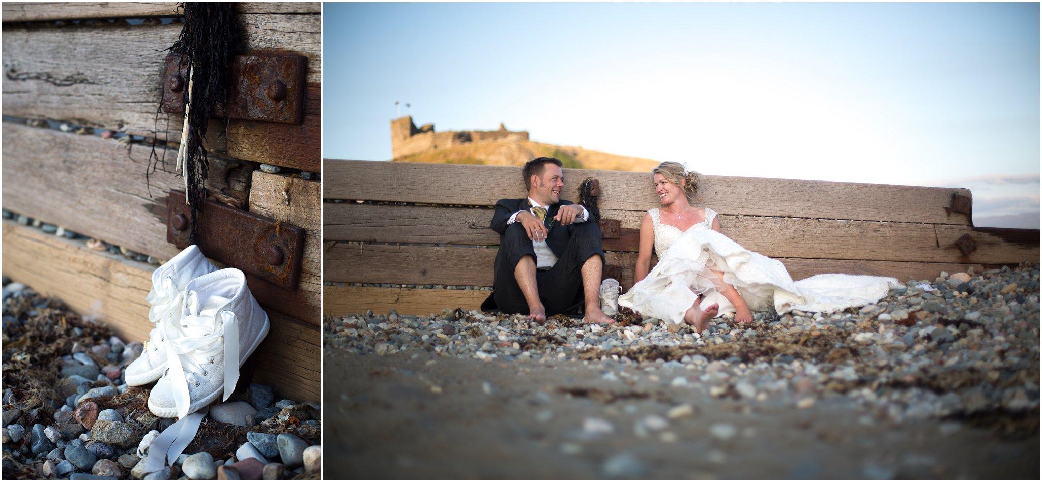 Beach Wedding Bride and Groom Photography