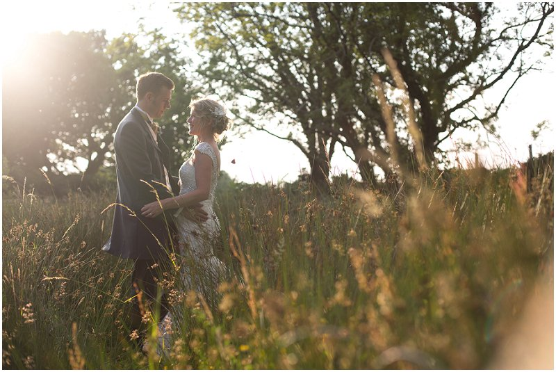 Beautiful couples portraits at Wales Wedding